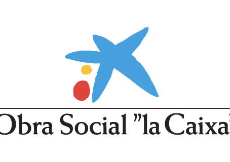 Un año más la Obra Social de La Caixa es parte de nuestros proyectos