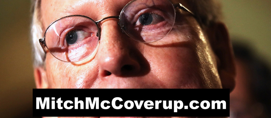 Time's Up For Mitch McCoverup