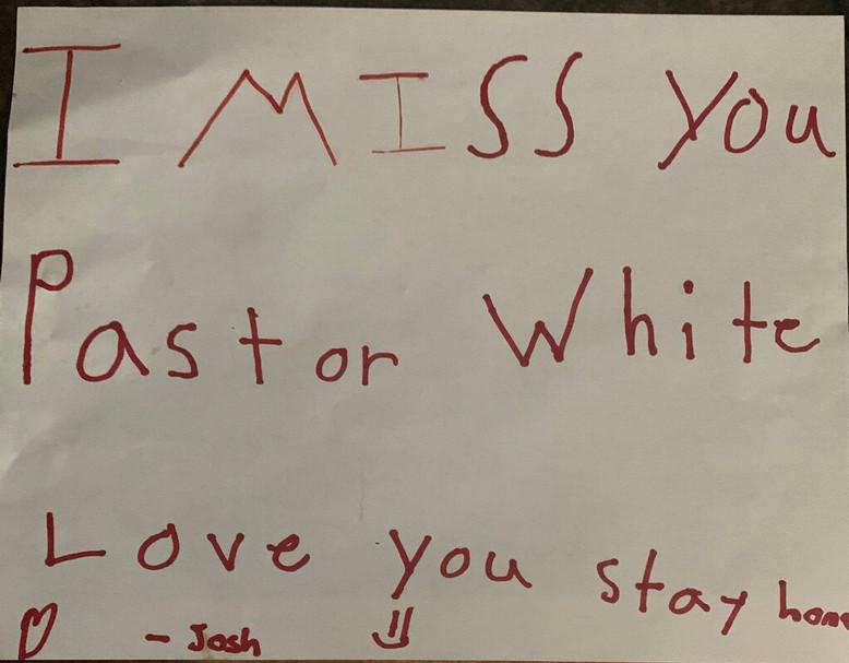 From Josh