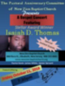 Gospel Concert at New Zion 10_11_19