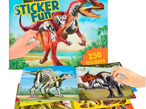 DinoWorld Sticker Fun