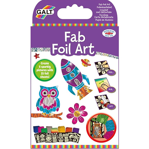 Foil art kids craft set galt