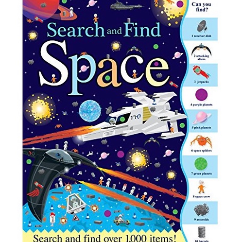 Search and find space book