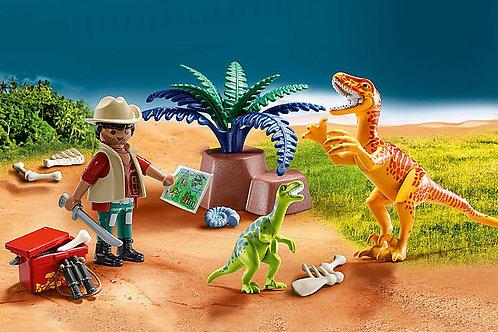 Playmobil - Dino explorer carry case