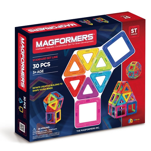 Magformers toy magnetic block 30 shapes
