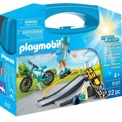 Extreme sports figure carry case playmobil