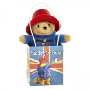 Children Character - Paddington in Union Jack bag