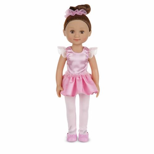 Toy ballerina doll victoria pink
