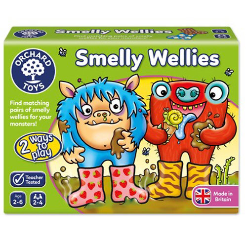 Orchard Game - Smelly wellies