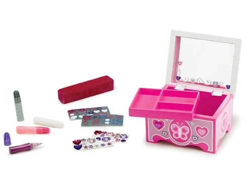 DIY jewellery box craft set