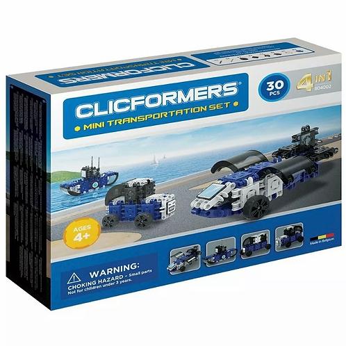 Magformers - Clicformers Transportation Set