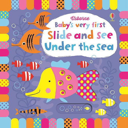 Usborne - Baby's very first slide-and-see under the sea