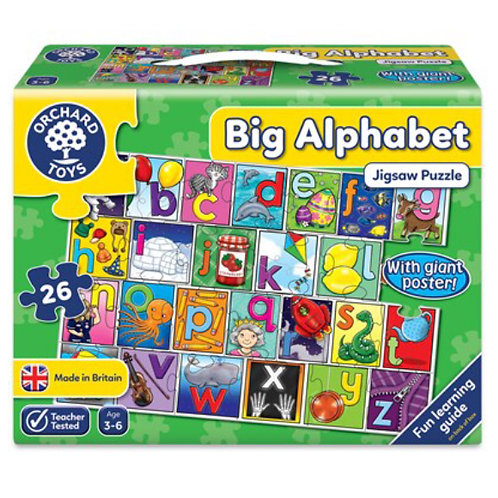 Orchard Jigsaw - Big alphabet