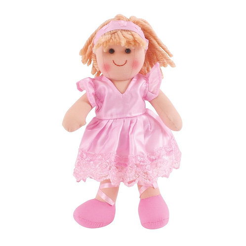 Bigjigs rag doll pink Lilly