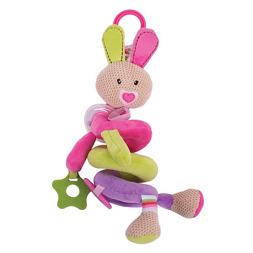 Bigjigs baby spiral cot rattle