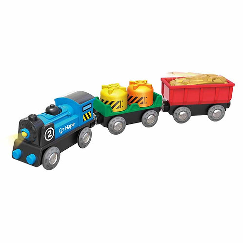 Hape - Battery powered rolling-stock set