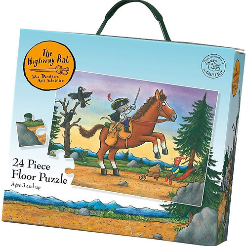 Book Characters and Toys - The Highway Rat 24 pcs puzzle