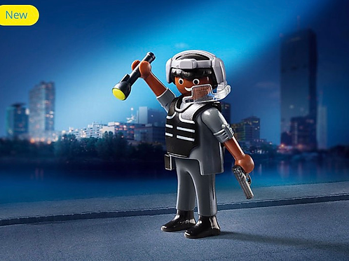 Tactical unit officer toy figure playmobil