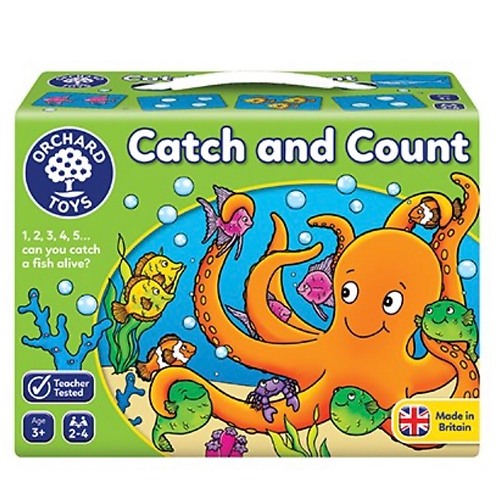 Catch and count game green orchard