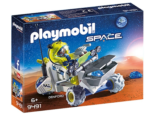 Mars rover toy figure playmobil