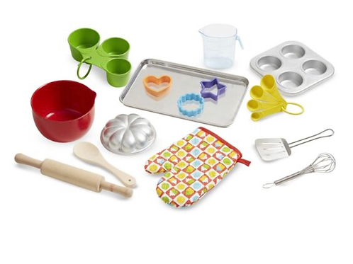 Pretend play baking set