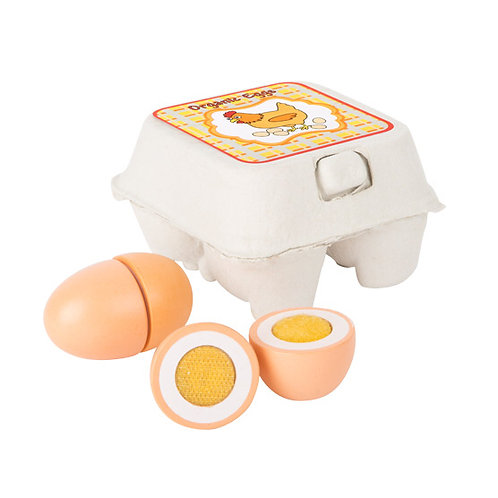 Small Foot Toys - Wooden eggs