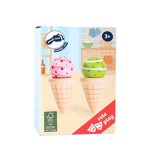 Smallfoot - Ice cream cones set