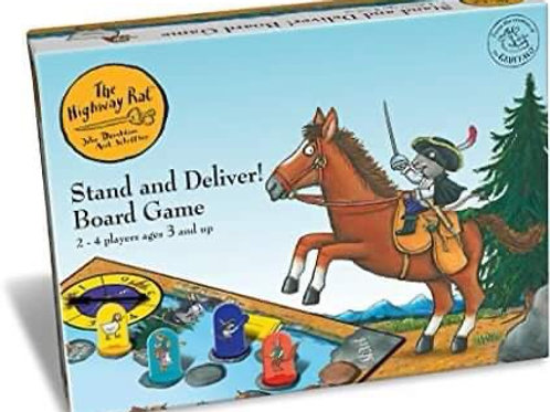 Book Characters and Toys - The Highway Rat Board Game