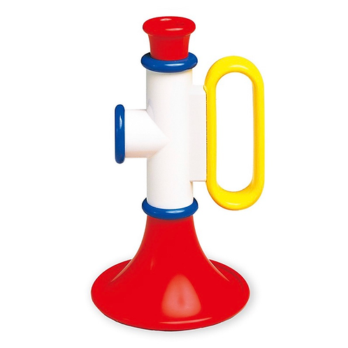 Plastic trumpet toy for toddlers galt
