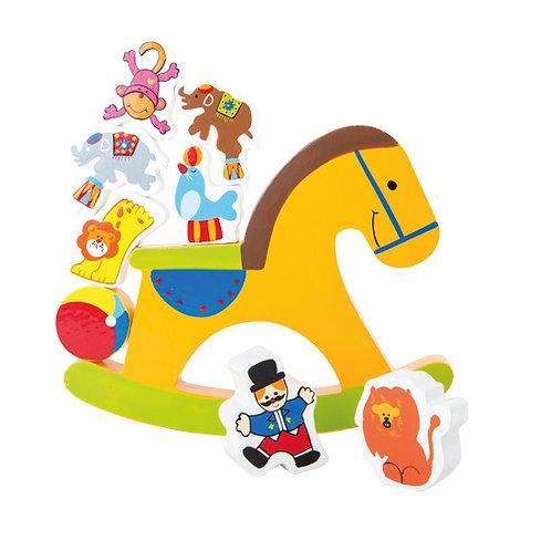 Small Foot Games - Balancing rocking horse