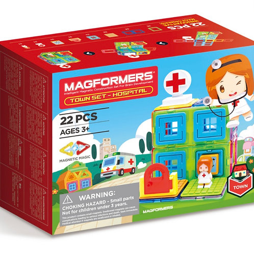 Magformers - My Town Hospital set