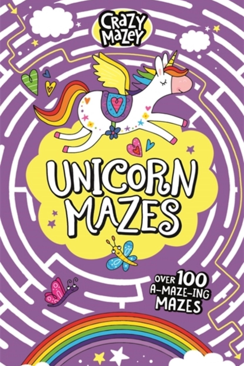 Unicorn mazes book