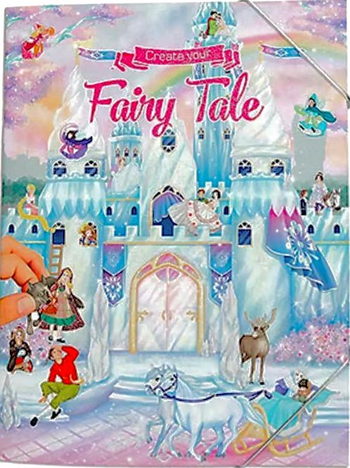 Fairy tale sticker book
