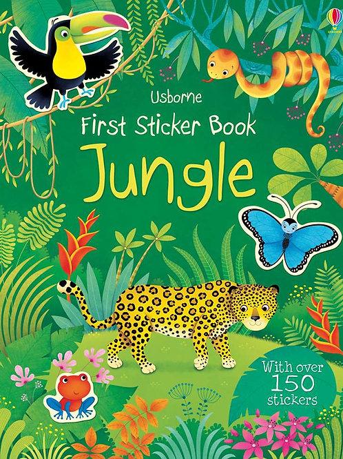Usborne - First sticker book jungle