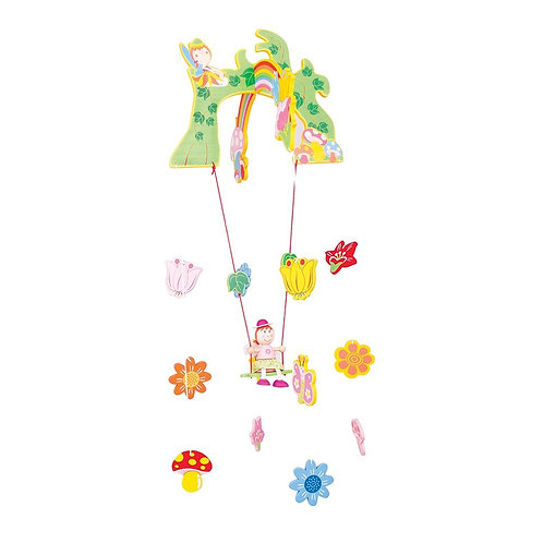 Bigjigs wooden mobile decoration