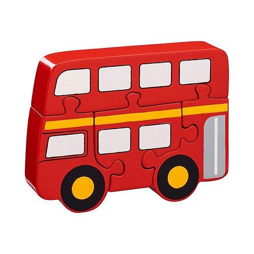 Lanka kade wooden jigsaw london bus