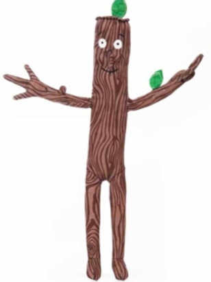 Children character - Stick man 12in soft toy