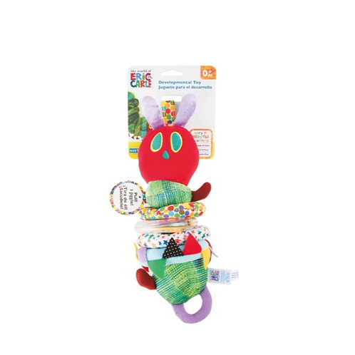Smallfoot - The very hungry caterpillar motorskills toy with vibration