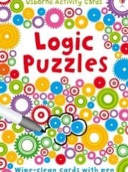 Logic puzzles wipe and clean cards usborne