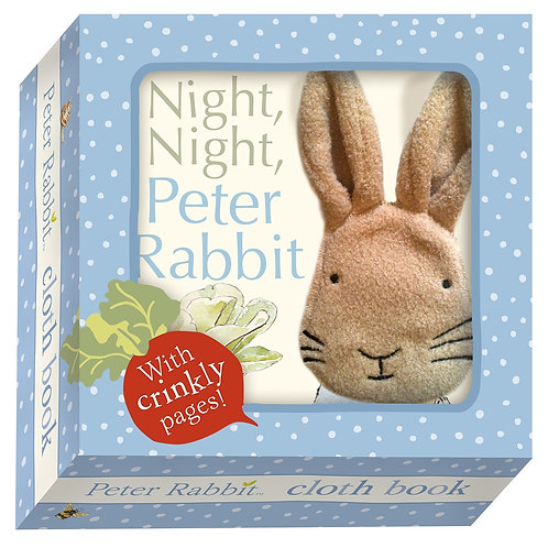Baby books - Peter Rabbit soft book