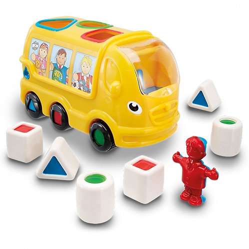Wow toys shape sorting school bus