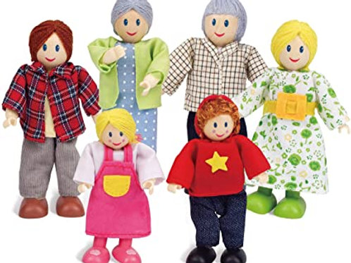 Hape - Happy family Caucasian