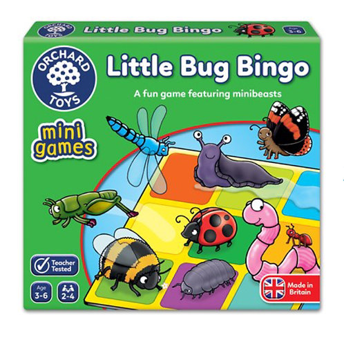 Orchard Mini game - Little bug bingo