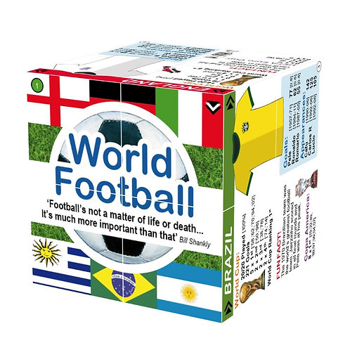 Bigjigs learning cube book football