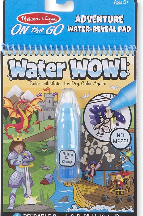 Adventure water colouring book water wow