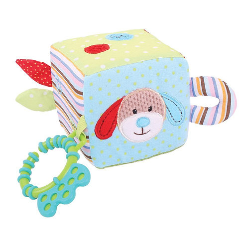 Bigjigs baby soft toy activity cube