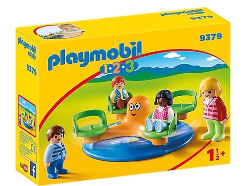 Children carousel toy figures playmobil