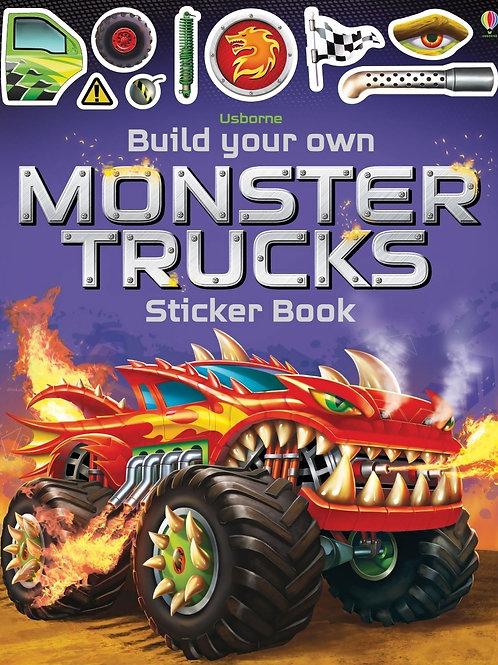 Usborne - Build your own monster trucks sticker book
