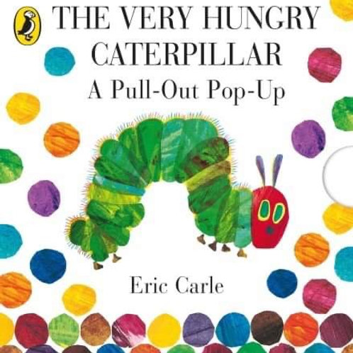 Children's Books - The Very Hungry Caterpillar - A pull-out pop-up Book