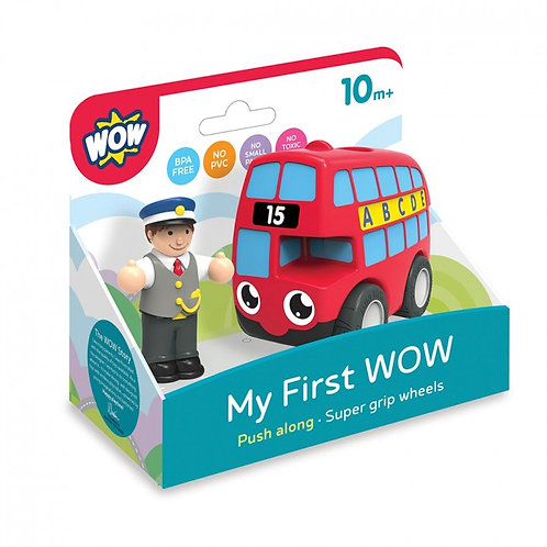 Wow baby small London bus toy